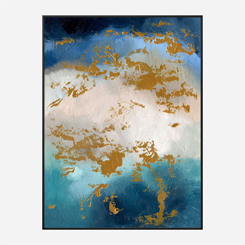 Reefs Abstract Art Print