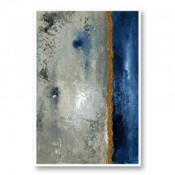 Beach Port 1 Abstract Art Print