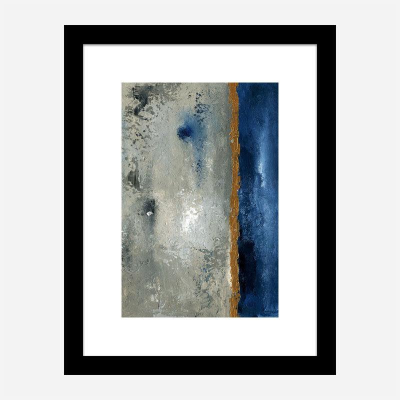 Beach Port 1 Abstract Art Print