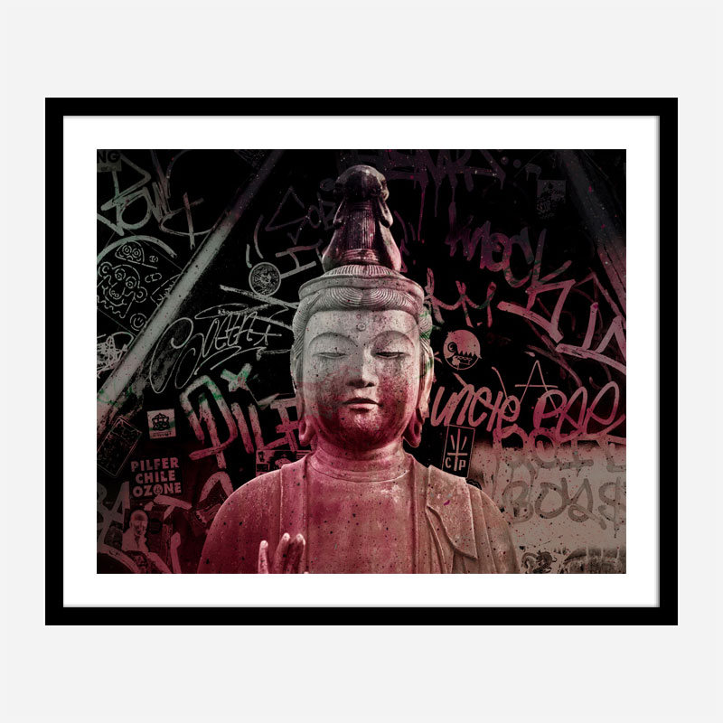 Buddha Abstract Art Print
