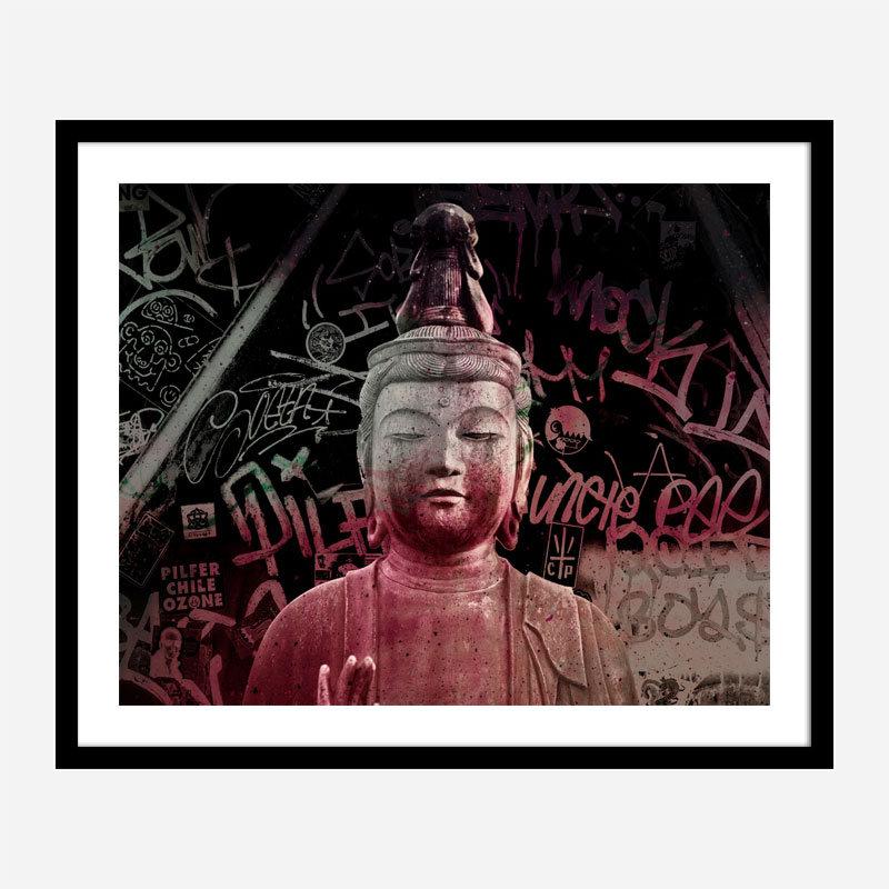 Buddha Abstract Art Print