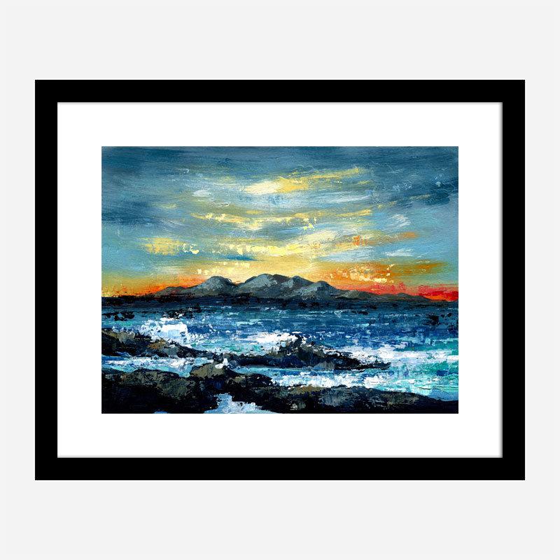 Mountain Abstract Art Print