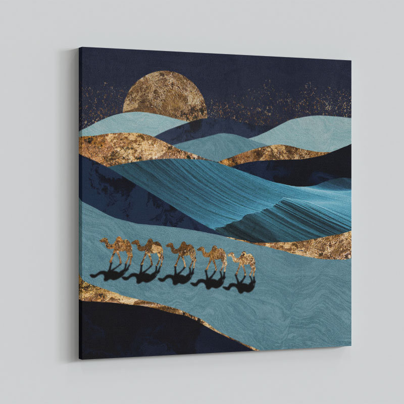 Sahara Abstract Art Print