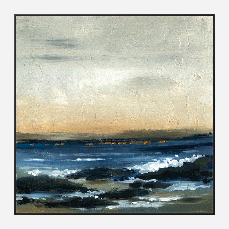 Sea Foam Abstract Art Print