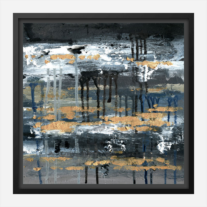 Street Wall Abstract Art Print