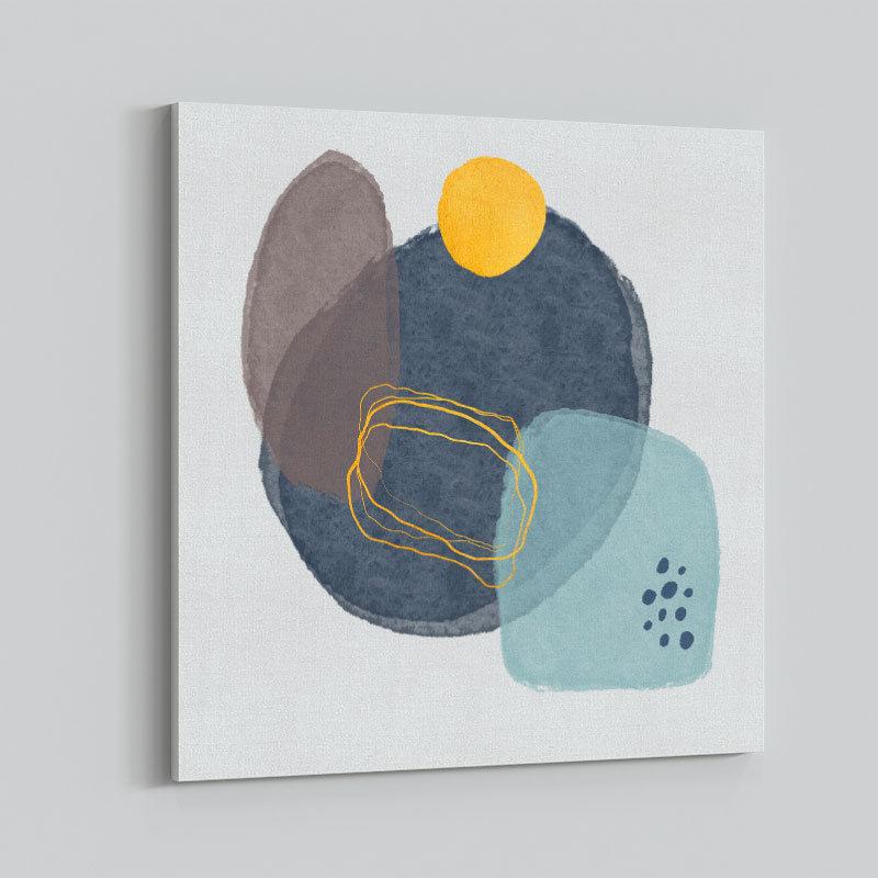 Abstract Stones Art Print