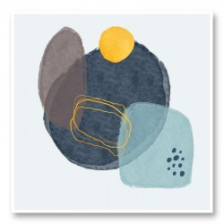 Abstract Stones Art Print