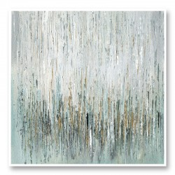 Gold Rain Abstract Art Print