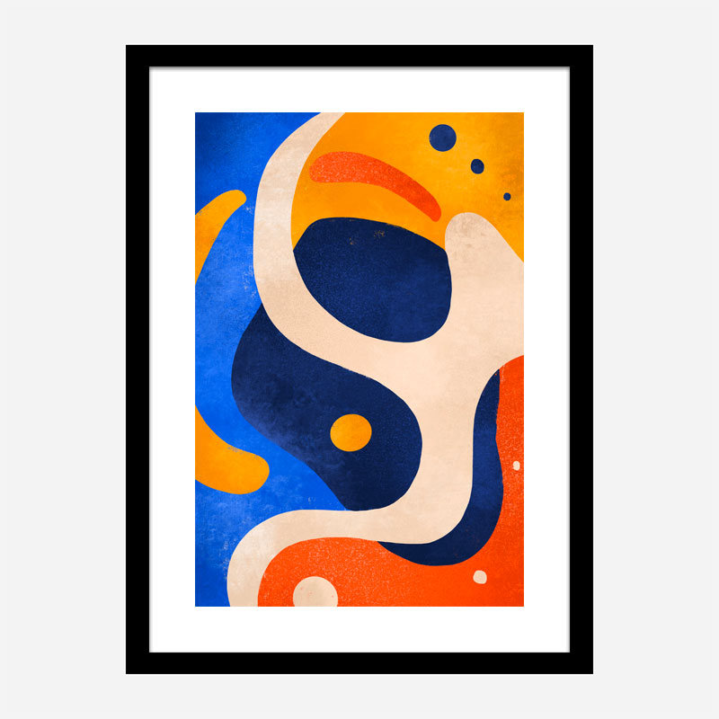 Soft Abstraction Art Print