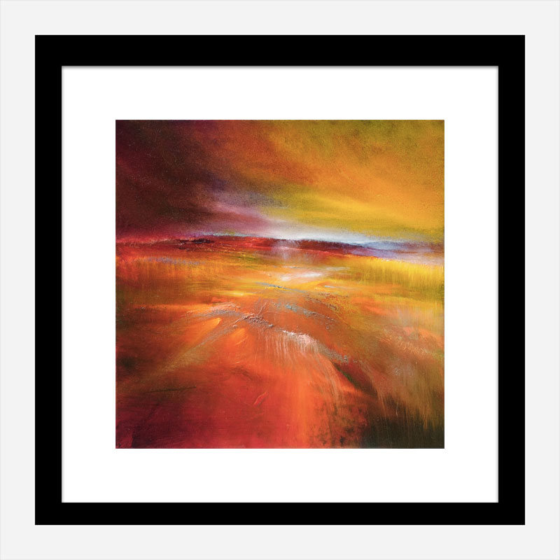 Harvest Country Abstract Art Print