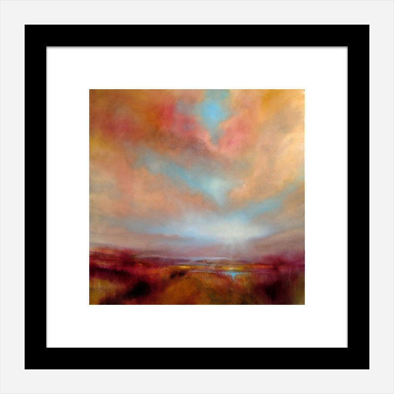 Heather Abstract Art Print