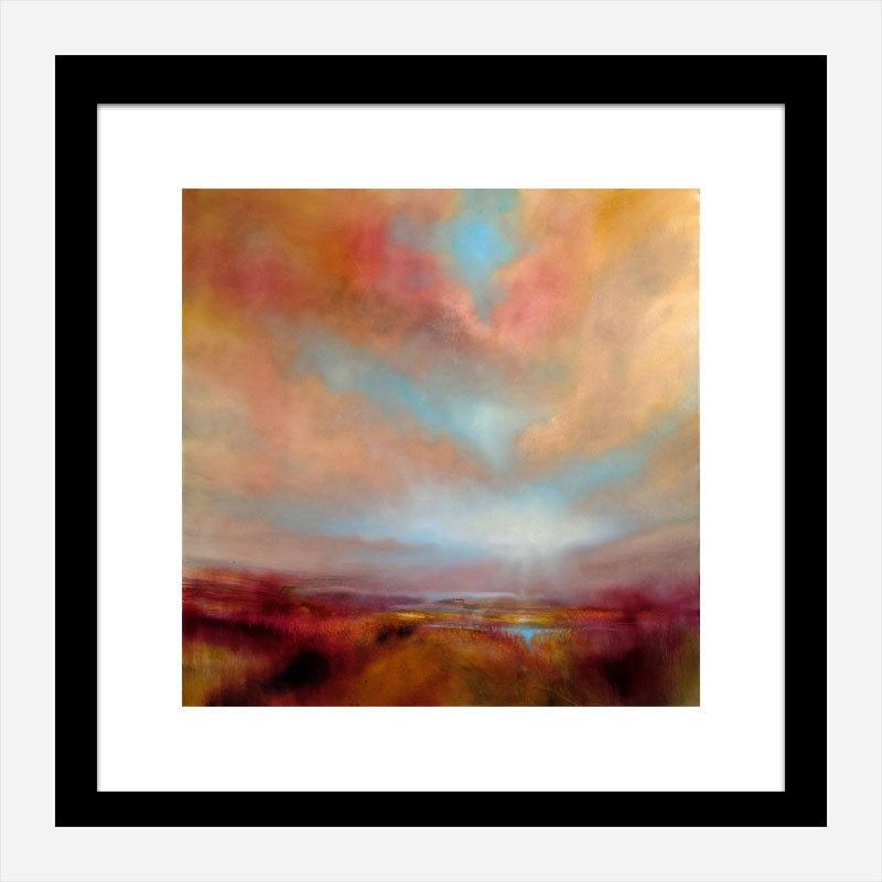 Heather Abstract Art Print