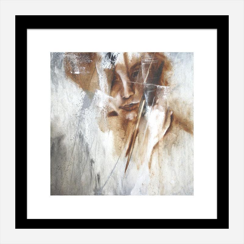 Hidden Abstract Art Print