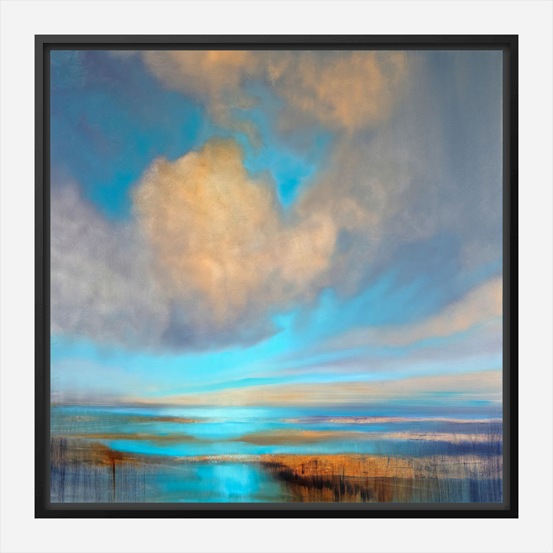 A Little Happiness Abstract Art Print