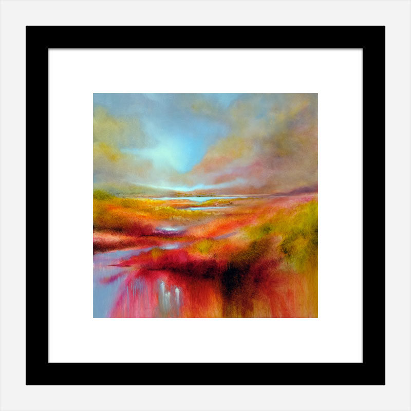 A Perfect Day Abstract Art Print