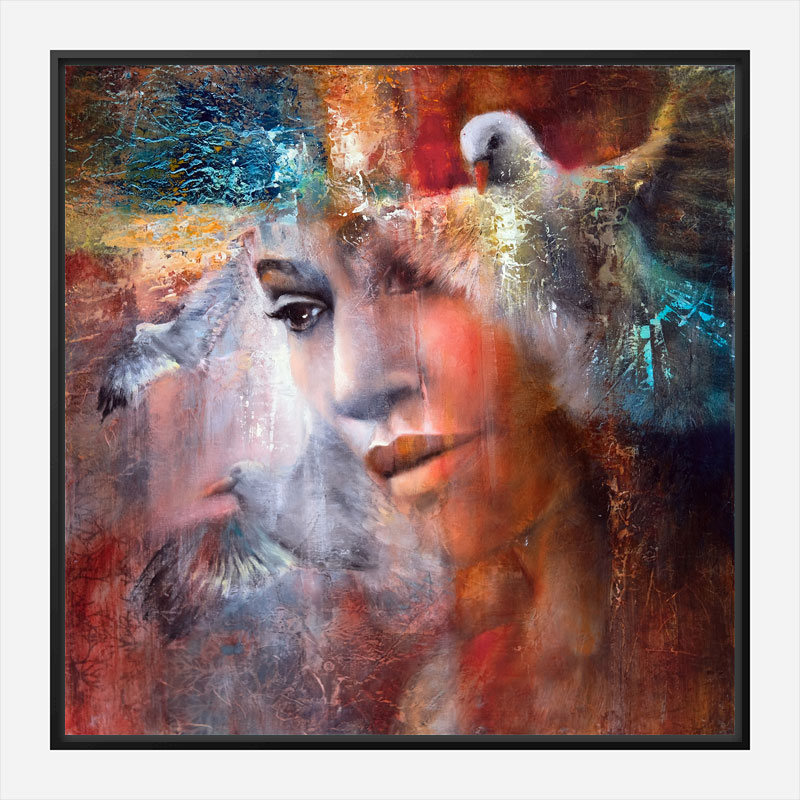 I Dreamed I Was Flying Abstract Art Print