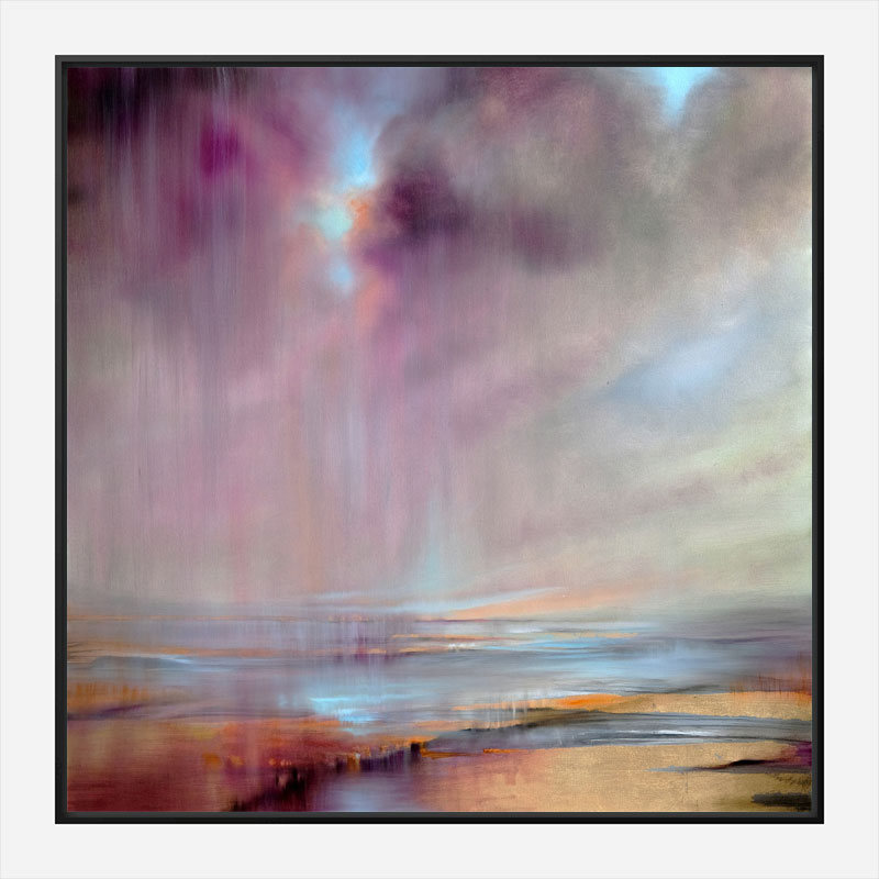 And Then The Sky Tears Open Abstract Art Print