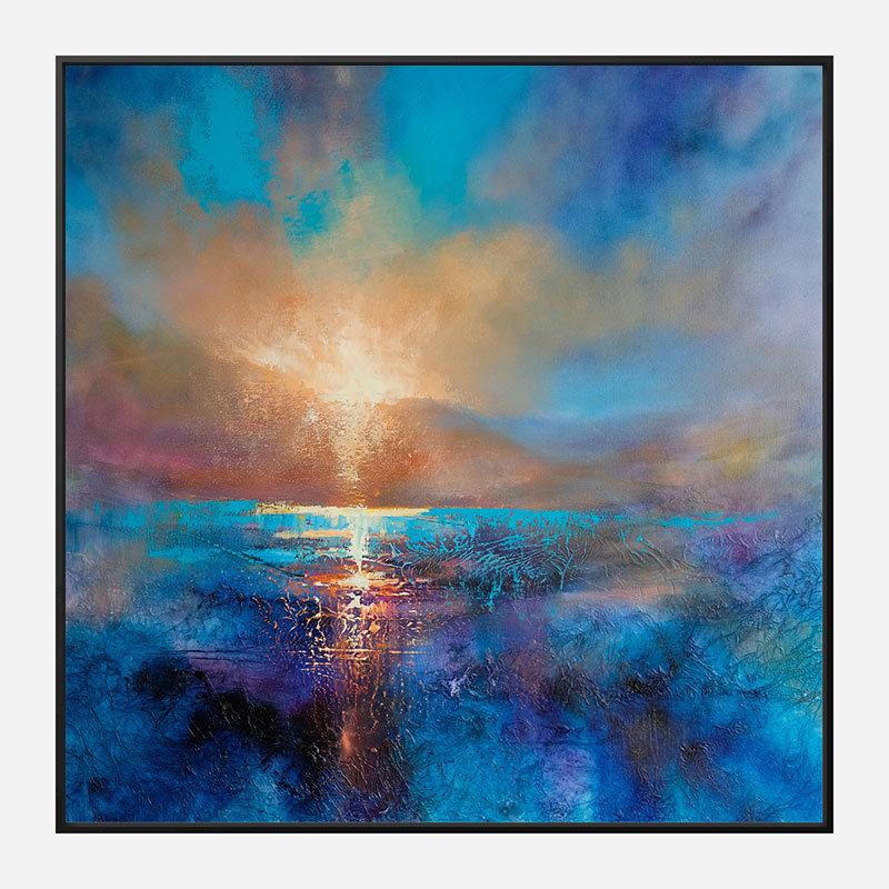 Always The Sun Abstract Art Print