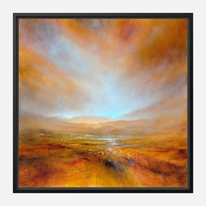 Autumn Light Abstract Art Print