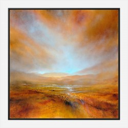 Autumn Light Abstract Art Print
