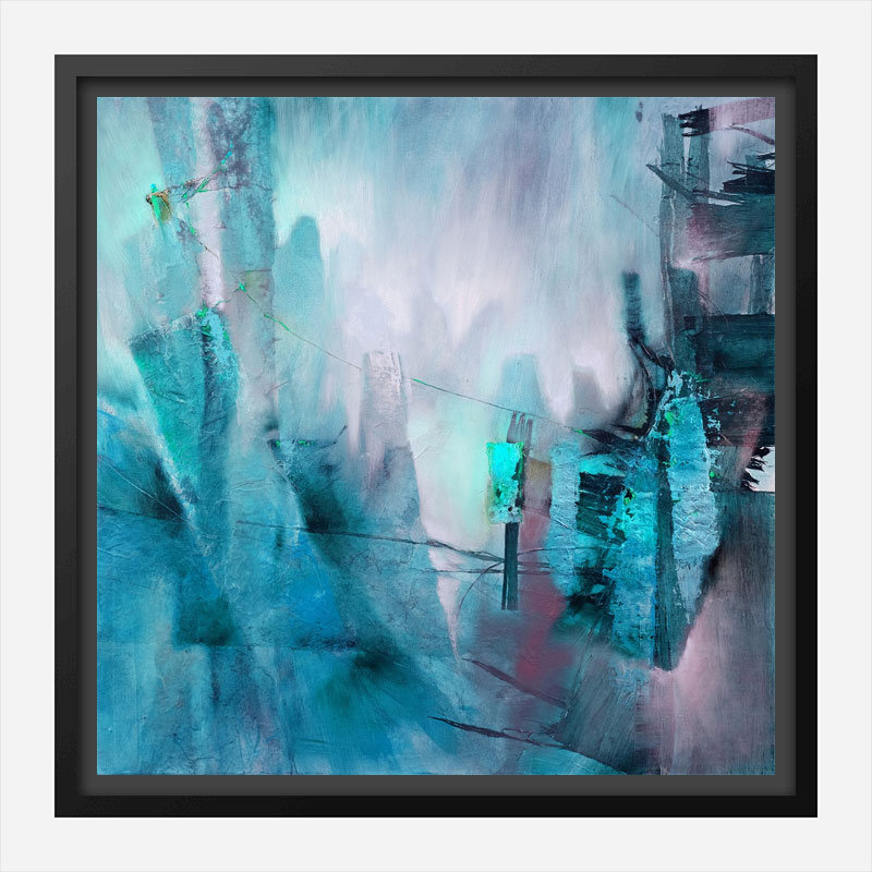 Detached Abstract Art Print