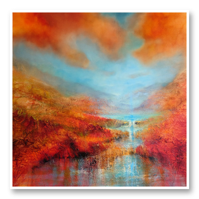 Dreamland Abstract Art Print