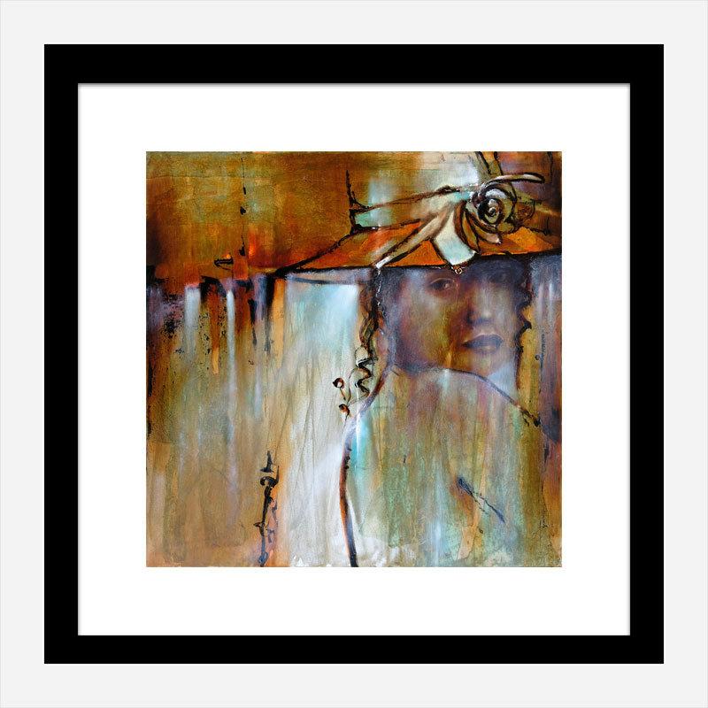Elena Abstract Art Print