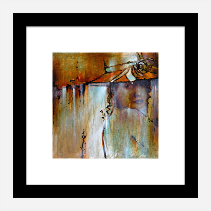 Elena Abstract Art Print