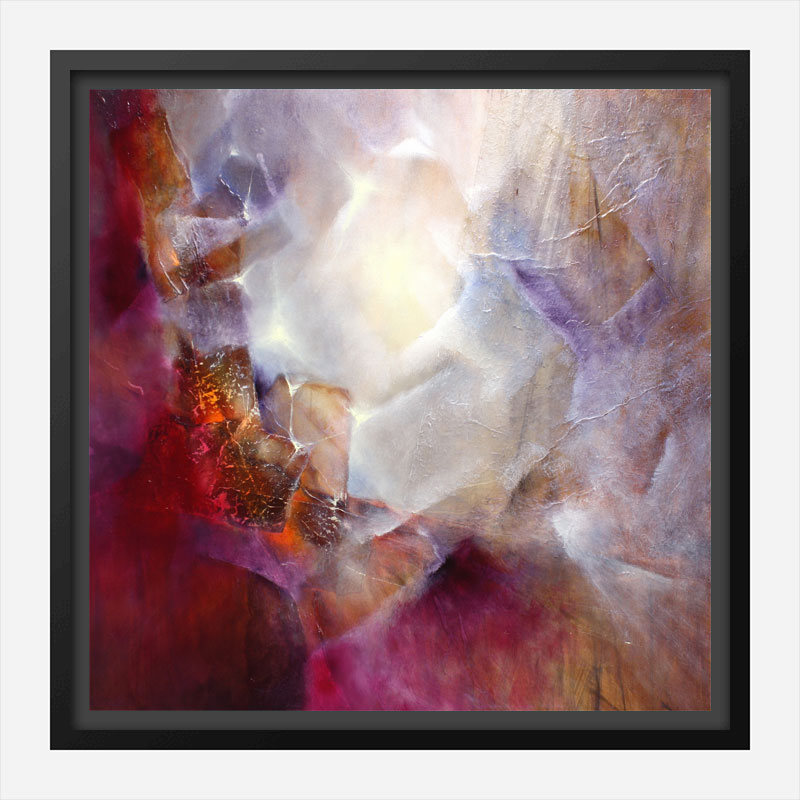 From the Inner Glow Abstract Art Print