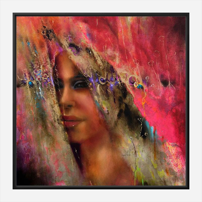 Larissa Abstract Art Print