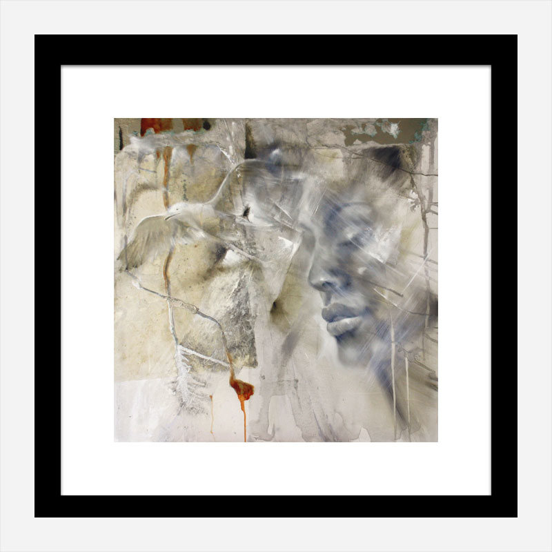 Let Go Abstract Art Print