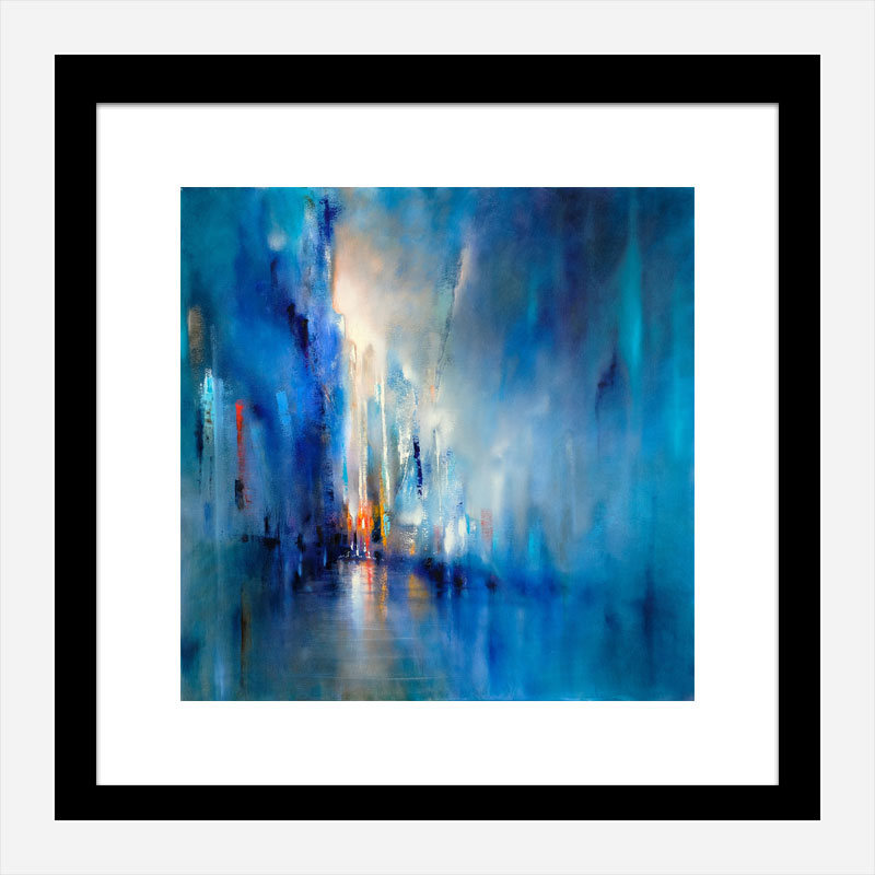 Light in the Distance Abstract Art Print