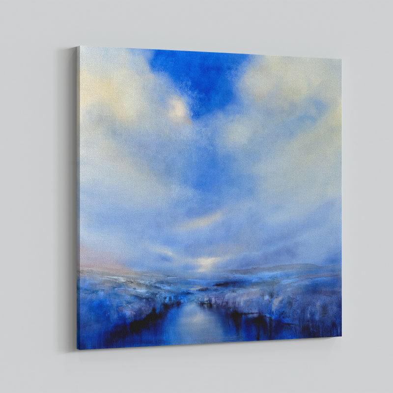 Light Space Abstract Art Print