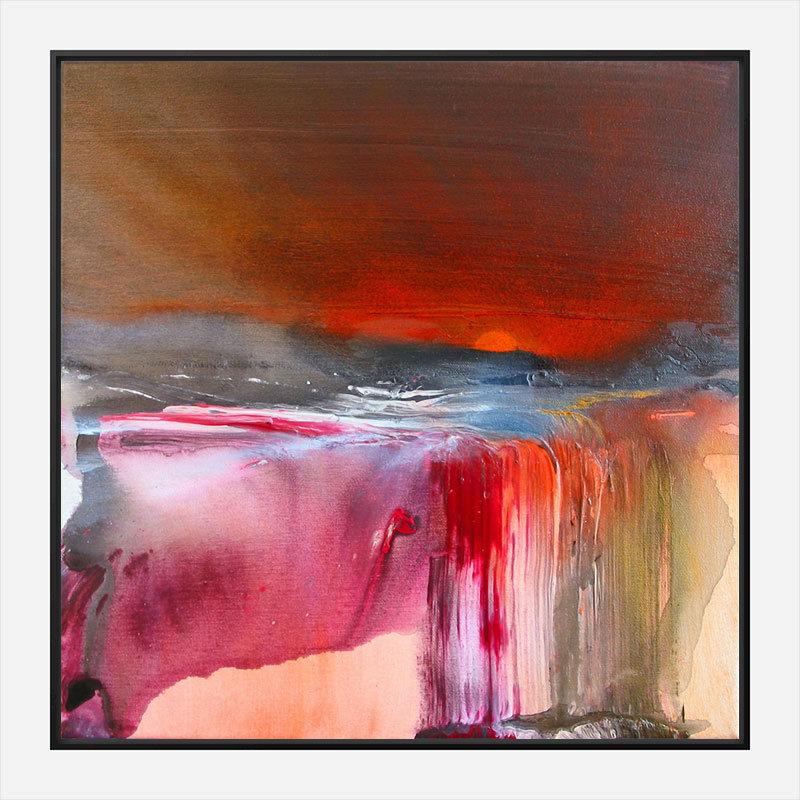 New Dawn Abstract Art Print