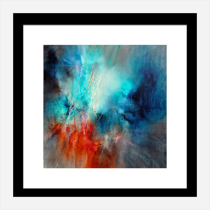 Spring in Eistobel Abstract Art Print
