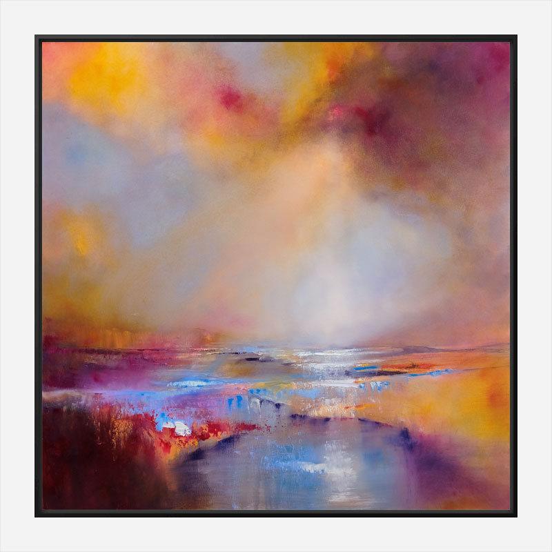 Sun Light Abstract Art Print