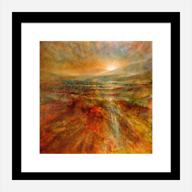 Sunrise Abstract Art Print