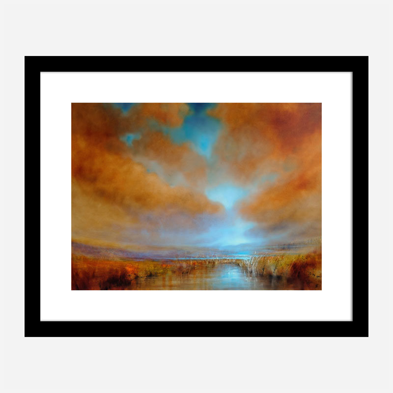 Colors of Light Abstract Art Print