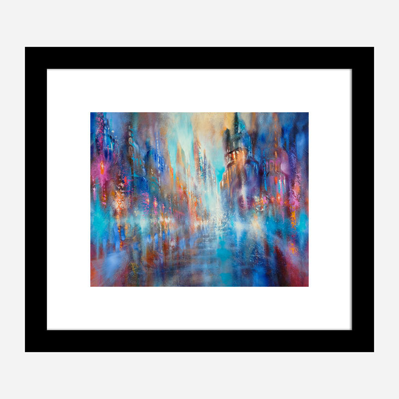 Into the Light Abstract Art Print