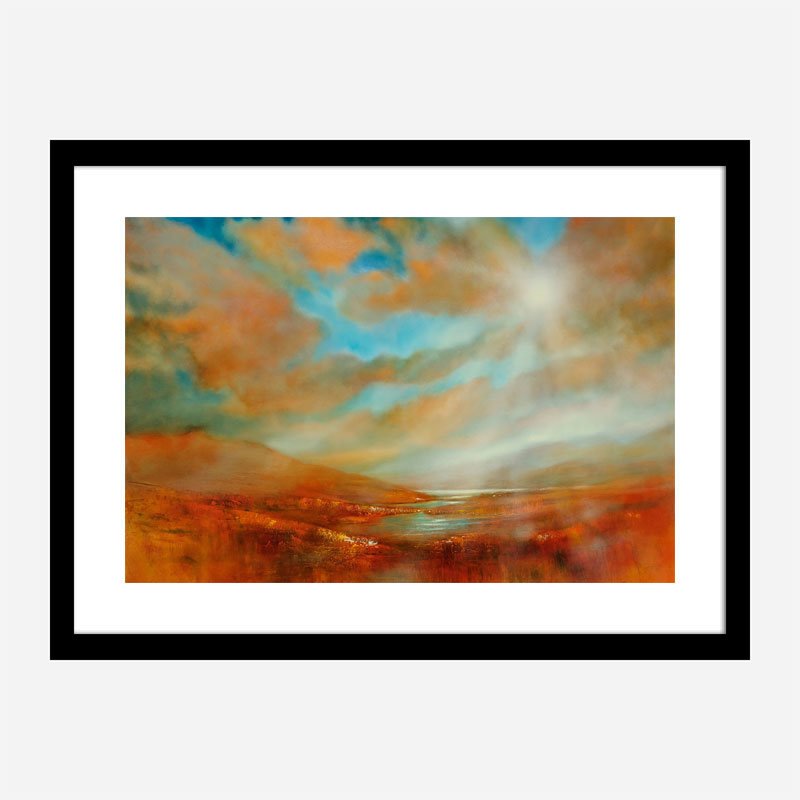 Far Away Abstract Art Print