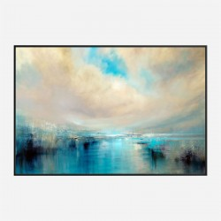 Arrive Abstract Art Print