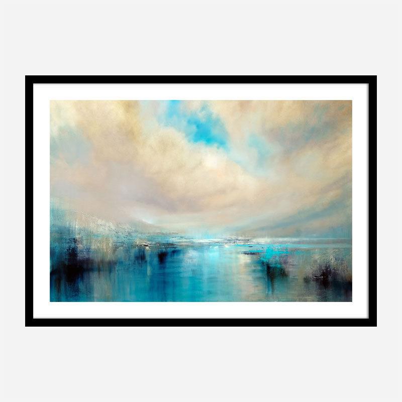 Arrive Abstract Art Print