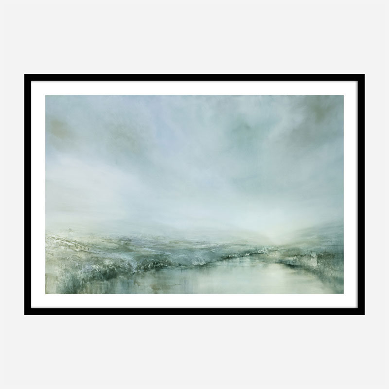Morning Dew Abstract Art Print
