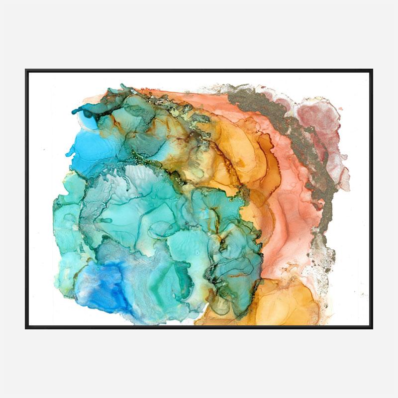 Ink 4 Art Print