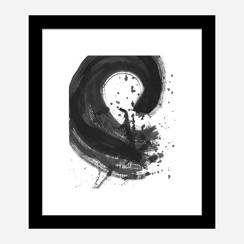 Hot Mess Abstract Art Print