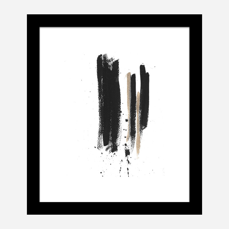 Three Lines C Abstract Art Print