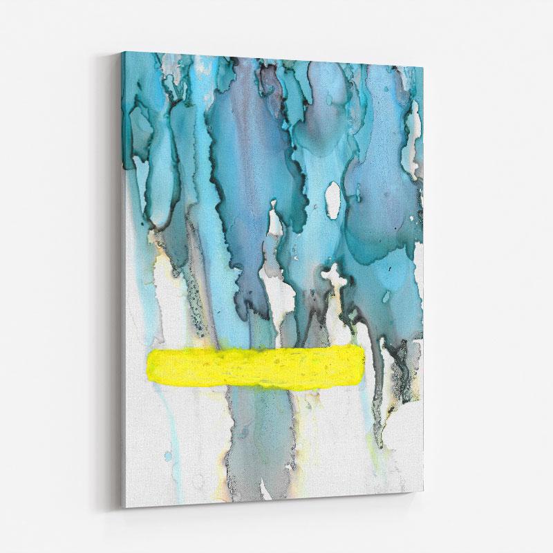 Sunshine After The Rain Abstract Art Print
