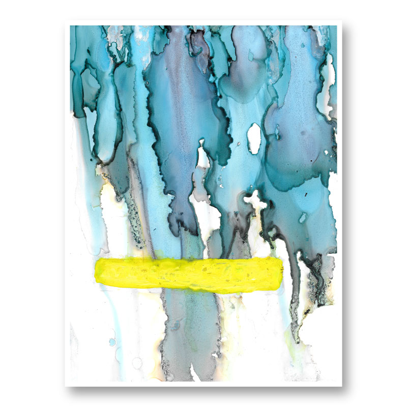 Sunshine After The Rain Abstract Art Print