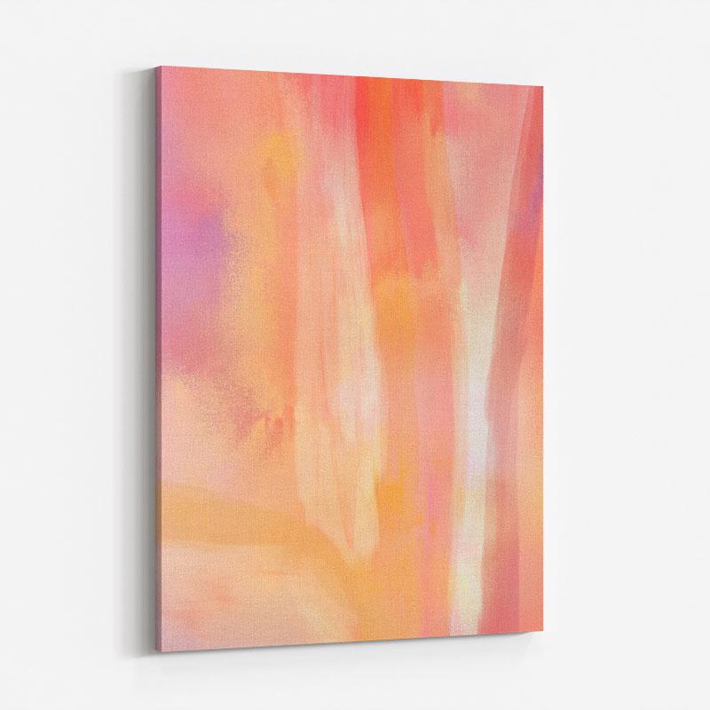 Blossom Abstract Art Print