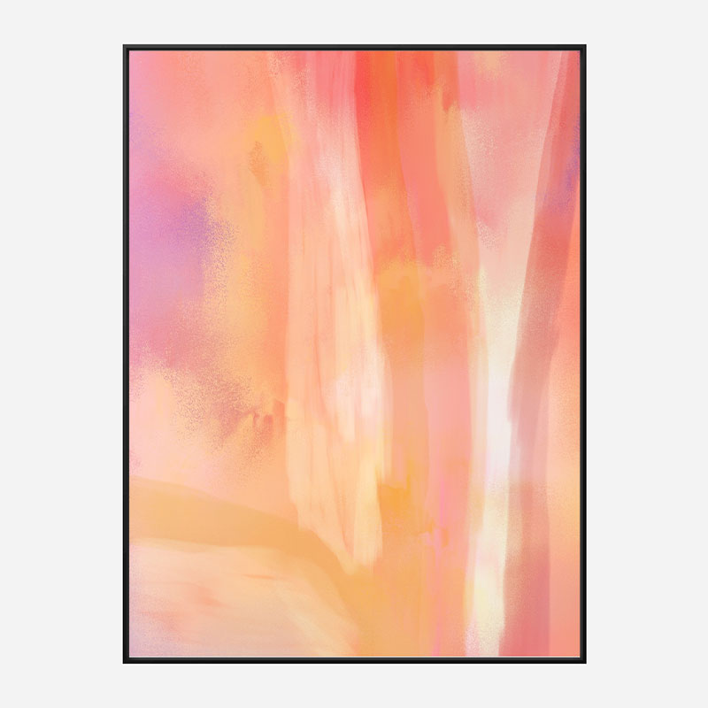Blossom Abstract Art Print